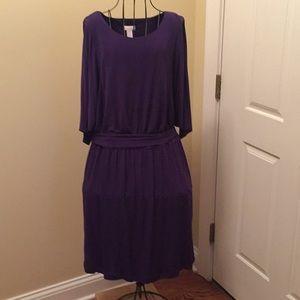 Chico's Purple Dress - NWOT
